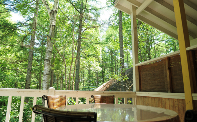 Private space in a great nature