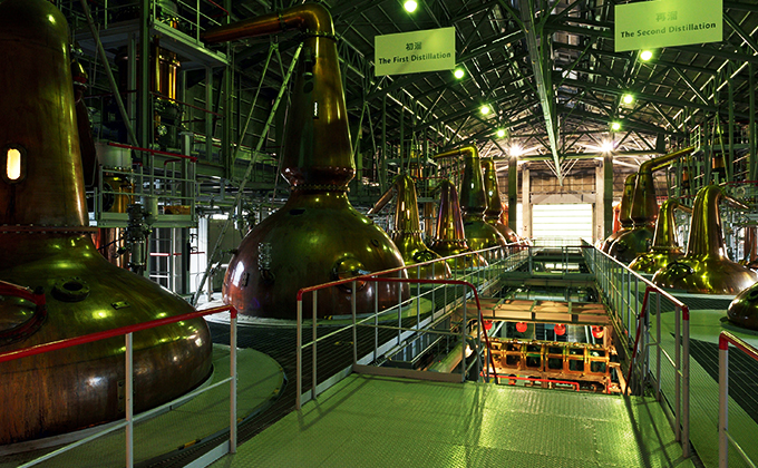 Making pure single malt whiskies with a variety of characters
